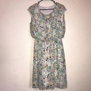 Cato pastel colored dress- size medium